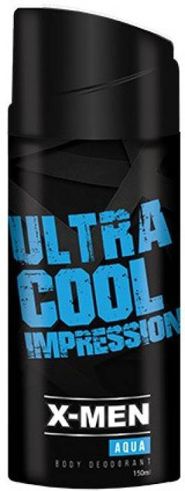 X-Men Aqua Body Deodorant Spray  -  For Men