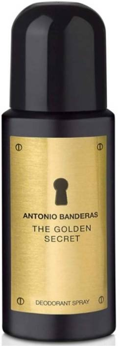 886eb06b7 Antonio Banderas The Golden Secret Body Spray - For Men - Price in ...