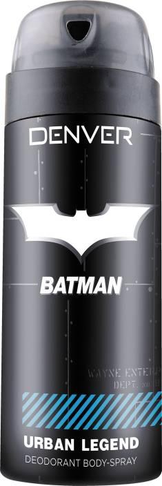 Denver Batman Urban Legend Deo 150 Ml Deodorant Spray  -  For Men