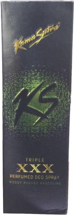 KamaSutra Triple XXX Deo Deodorant Spray  -  For Men & Women