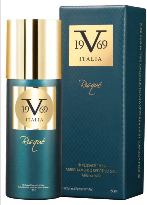 V 19.69 Italia Risque Deodorant Spray  -  For Men