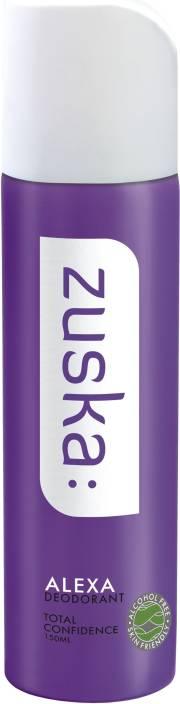 Zuska Alexa Deodorant Spray  -  For Women