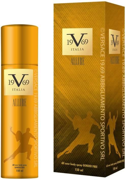 V 19.69 Italia presented by Versace 19.69 Abbigliamento Sportivo SRL - ALLURE Deodorant Spray  -  For Men & Women