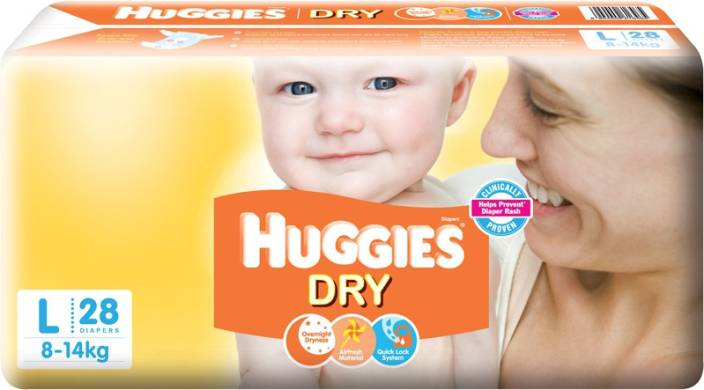 Huggies New Dry - L