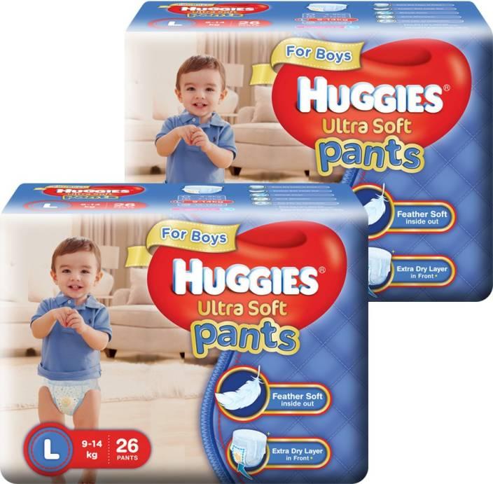 Huggies Ultra Soft Pants Combo - L