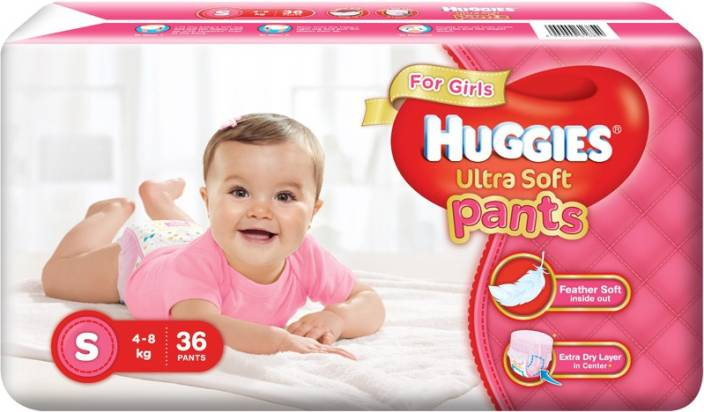 Huggies Ultra Soft Pants - S