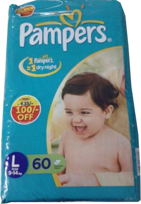 Pampers Diaper Large Size