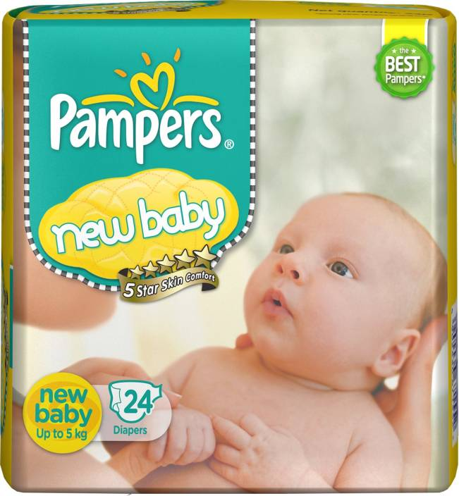 Pampers New Baby Diapers - NB - S