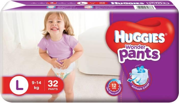 Huggies Wonder Pant - L