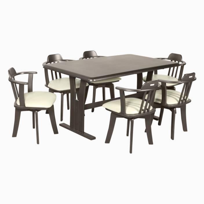 Rej Interio Atlanta Dining Set Solid Wood 4 Seater