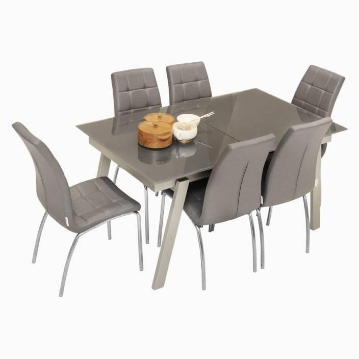 Cool Godrej Interio Royale Radiance Dining Set Glass 6 Seater Home Interior And Landscaping Ologienasavecom