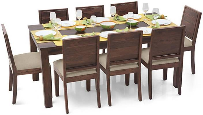 Urban Ladder Arabia XL - Oribi Solid Wood 6 Seater Dining Set