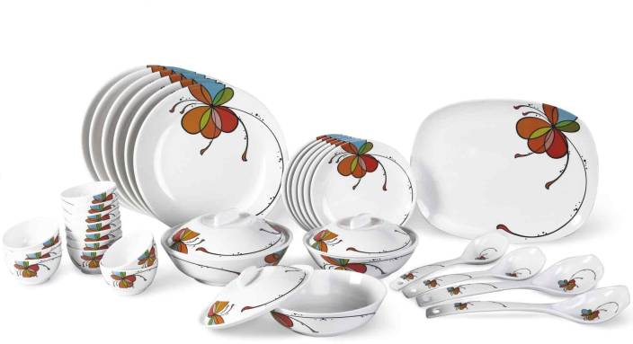 Borosil Pack of 35 Dinner Set