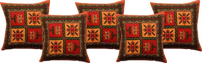 RajasthaniKart Abstract Cushions Cover
