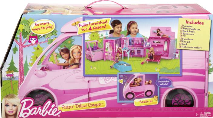 Barbie Sisters Deluxe Camper Sisters Deluxe Camper Shop For