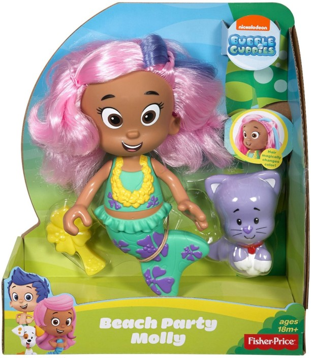 Fisher-Price Nickelodeon Bubble Guppies Magic Hair Molly