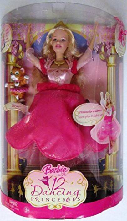 barbie princess genevieve doll barbie in the 12 dancing