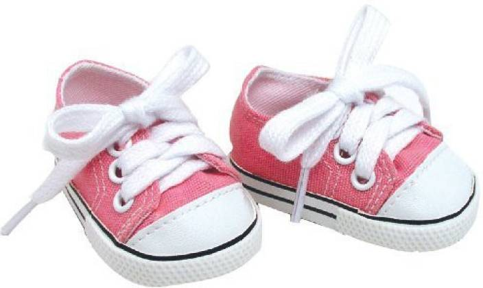 4e8e08fbc0f35 Sophia's 18 Inch Pink Doll Shoes Made by fit for American Girl Dolls ...