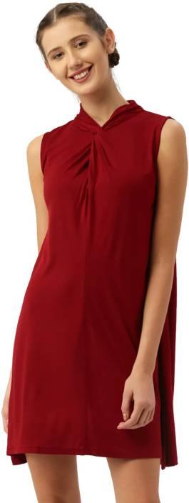 Dressberry Women's A-line Red Dress