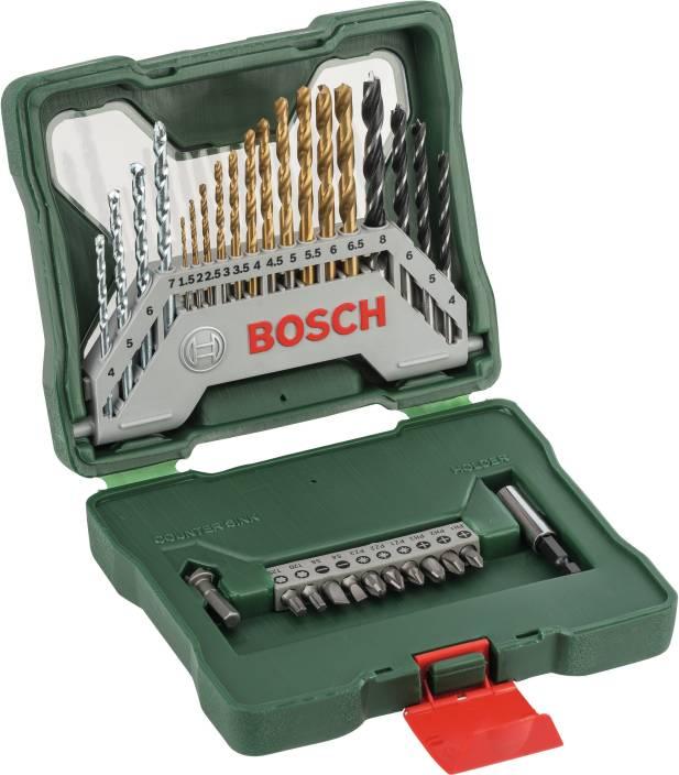 Bosch X30TI Drill Bit and Driver Bit Set Brad Points Set