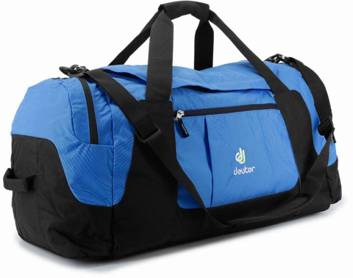 26a3e40bdc Deuter 23 inch 60 cm Relay 80 Travel Duffel Bag Cool Blue and Black - Price  in India