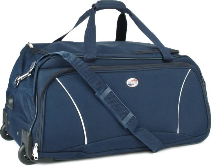 American Tourister 25 inch 64 cm Travel Duffel Bag Blue - Price in India  f8035a217cf37
