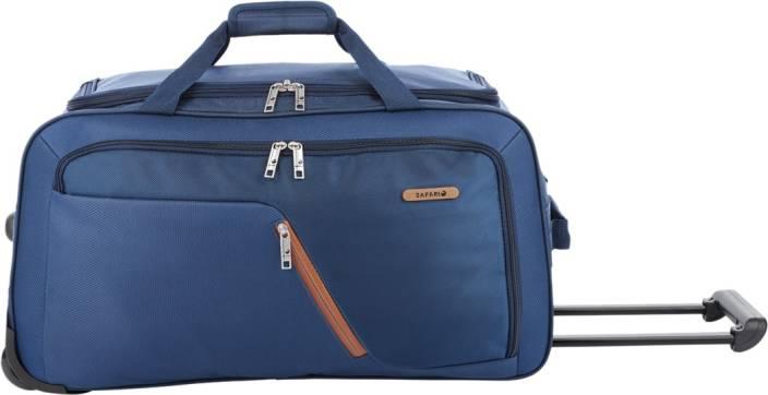 19948fbfdf Safari 55 inch 140 cm GRADIENT Travel Duffel Bag Blue - Price in ...