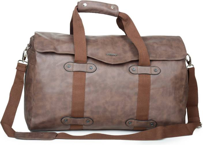 76b92f7dbe LAWMAN PG3 17 inch 43 cm (Expandable) LAW OVERNITER CHOCOLATE BROWN Travel  Duffel