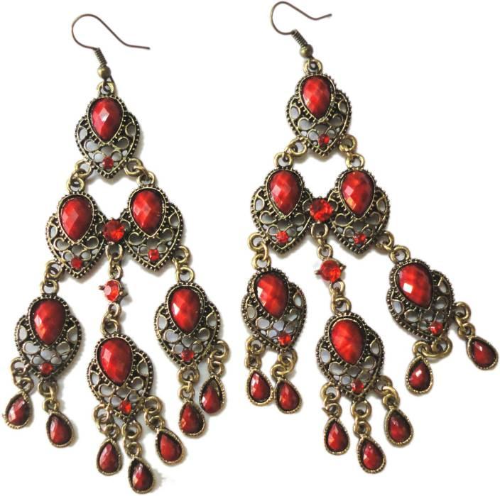 Trendz Collections Designer Alloy Dangle Earring