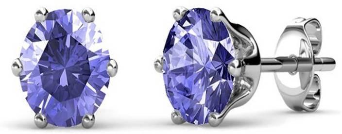 75bd3e20c Flipkart.com - Buy Yellow Chimes Macaroon Amethyst Swarovski Crystal ...