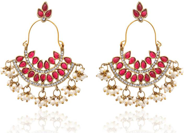 Flipkart buy zaveri pearls designer indian alloy chandelier zaveri pearls designer indian alloy chandelier earring mozeypictures Image collections
