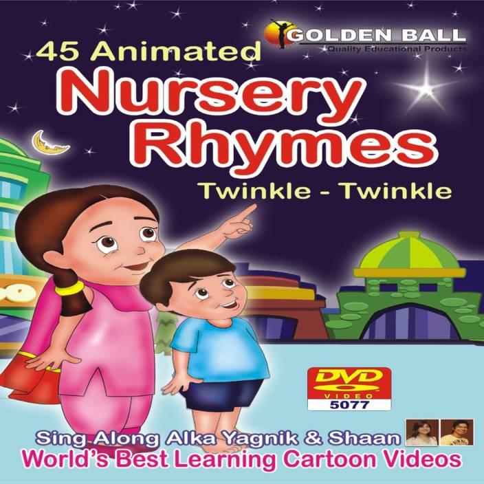 Golden Ball 45 Animated Nursery Rhymes Le