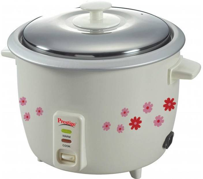 Prestige PRWO 1.8-2 Electric Rice Cooker with Steaming Feature