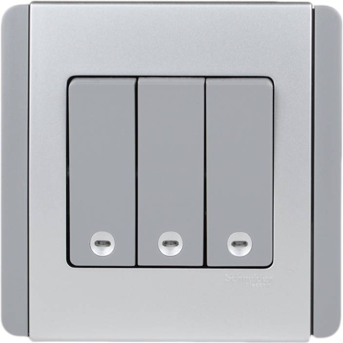 Schneider Gracious Grey 10 Three Way Electrical Switch Price in ...