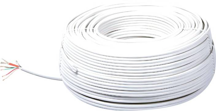 Sensational Mx Cctv Cable 4 1 Full Copper Rt 4 White 200 M Wire Price In India Wiring Digital Resources Inklcompassionincorg