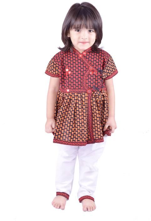 RTD Girls Kurta and Pyjama Set