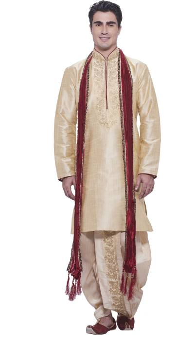 5b447e46b0 Manyavar Men's Kurta and Dhoti Pant Set - Buy Beige Manyavar Men's Kurta  and Dhoti Pant Set Online at Best Prices in India   Flipkart.com