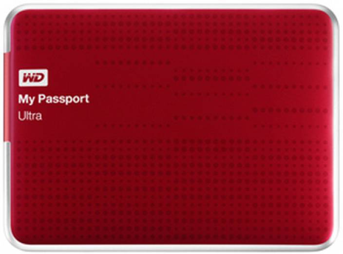 WD My Passport Ultra 2.5 inch 1 TB External Hard Drive