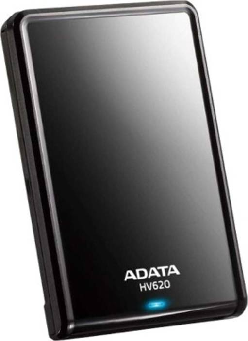 ADATA 1 TB Wired External Hard Disk Drive  (Black)