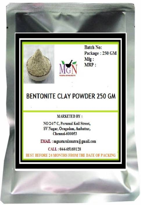 MG Naturals BENTONITE CLAY POWDER