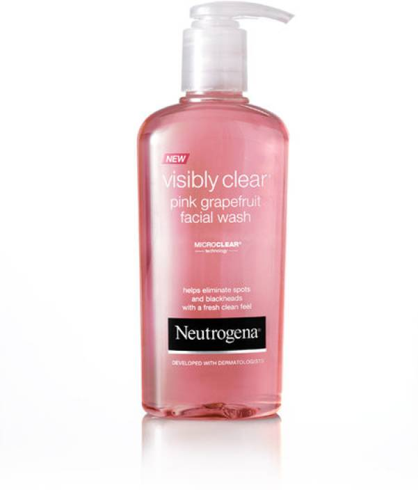 Neutrogena Visibly Clear Pink Grapefruit Face Wash Price In India