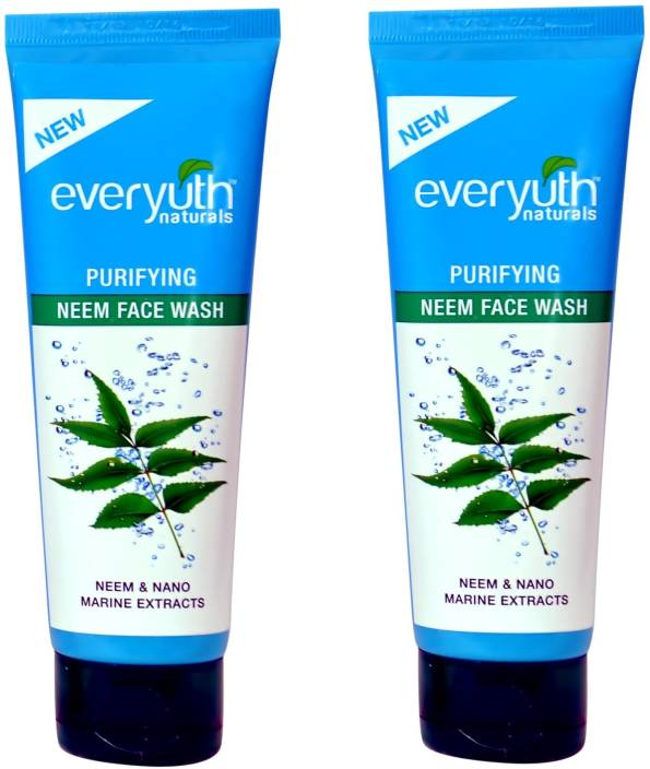 Everyuth Purifying Neem Twin Pack Face Wash