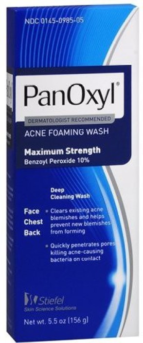 Panoxyl Panoxyl Acne Foaming Wash 10 Benzoyl Peroxide 55 Oz Face