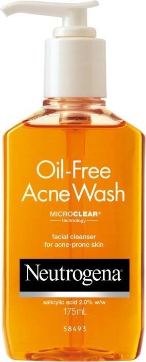 For that acne facial wash