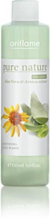 Oriflame Pure Nature Organic Aloe Vera & Arnica Extract Face Wash