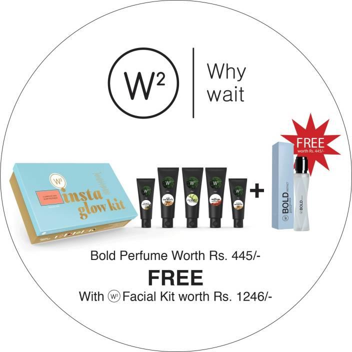 W2 Insta Glow Facial Kit 200 g - Price in India, Buy W2
