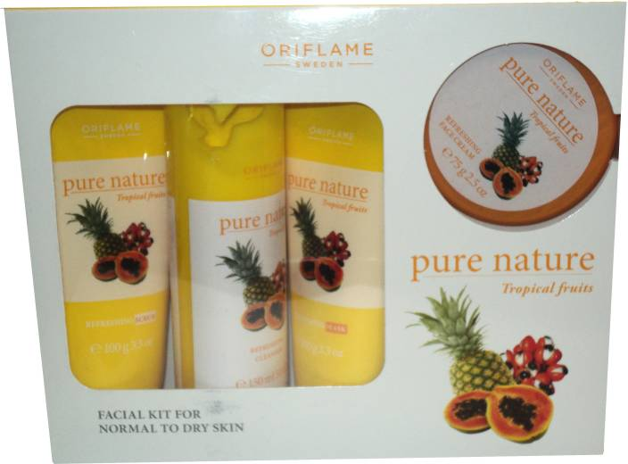 acb9990fe8 Oriflame Pure Nature Tropical Fruits Facial Kit 425 g - Price in ...