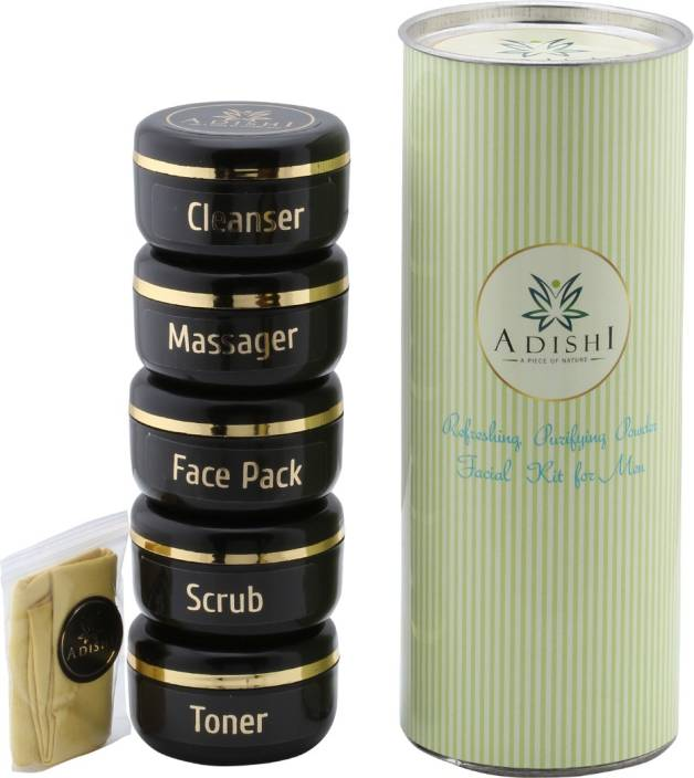 Adishi Gold Shimmer Powder Facial Kit For Men 300 g - Price in India ... 41152a5b2