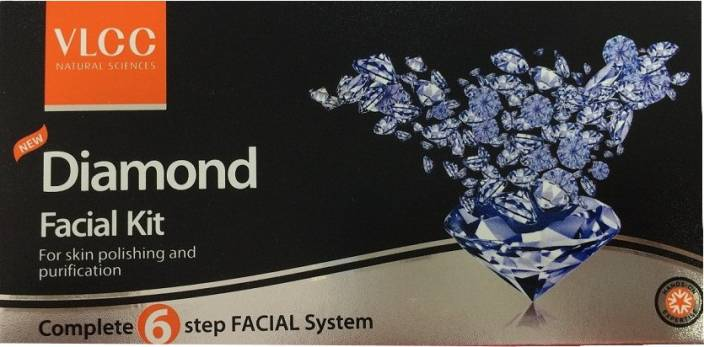 VLCC Diamond Facial Kit  (Set of 4)