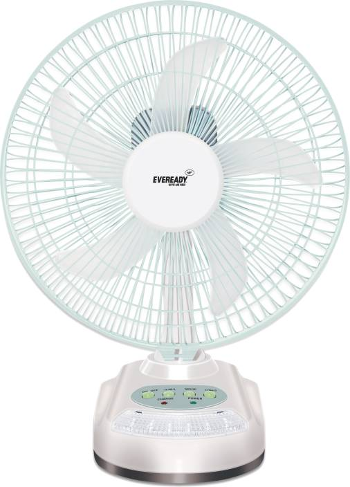 Eveready RF-06 Rechargeable 5 Blade Table Fan